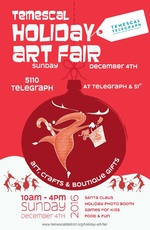 temescal holiday art fair